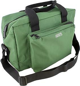 MonMed Green Medical Bag - Nurse Accessories Nursing School Supplies, Medical Equipment Bag, Nurse Bag in Green Nylon