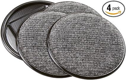 Lot de 4 Rembourré Castor Cups-Protéger plancher des rayures 70 mm NEUF
