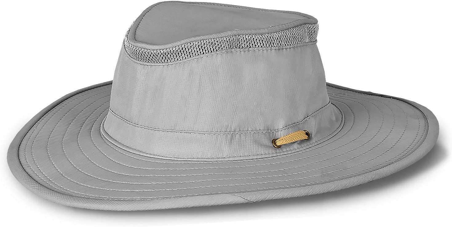 Wide Brim Safari Hats Summer Outdoor UV Sun Protection Boonie Hat for Women Men Sailing Hiking Boating Fishing