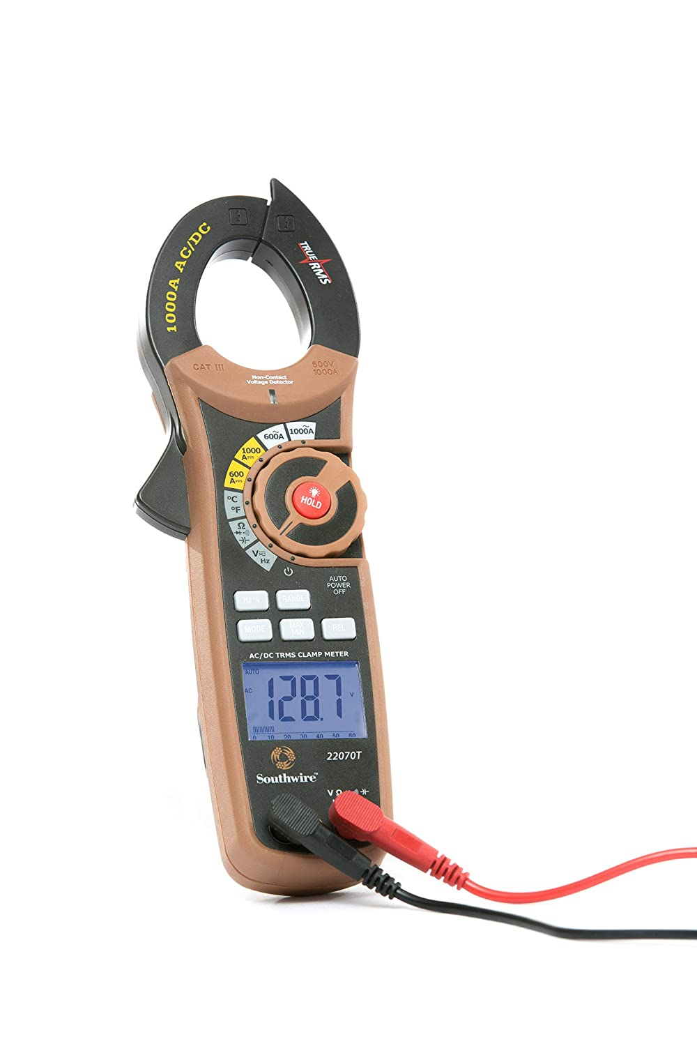 Southwire Tools & Equipment 21010N 400A Digital Clamp Meter ...