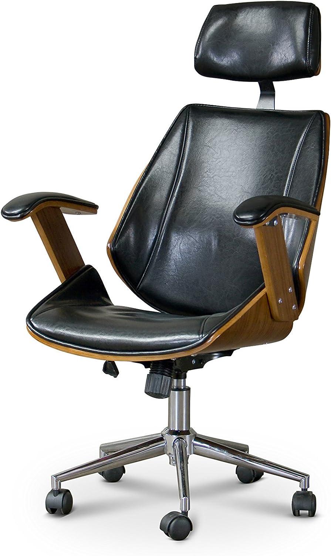 Amazon Com Baxton Studio Hamilton Office Chair 22lx26wx44 25h Furniture Decor