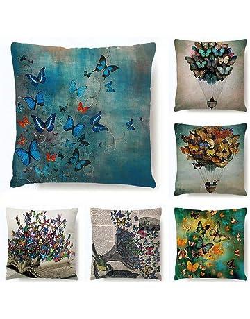 Funda de almohada de algodón y lino funda de almohada funda de almohada de color natural