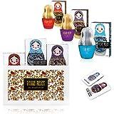Set regalo per donna, Russian Present con 3 pezzi di profumi da 35 ml, idea regalo di Natale per lei,