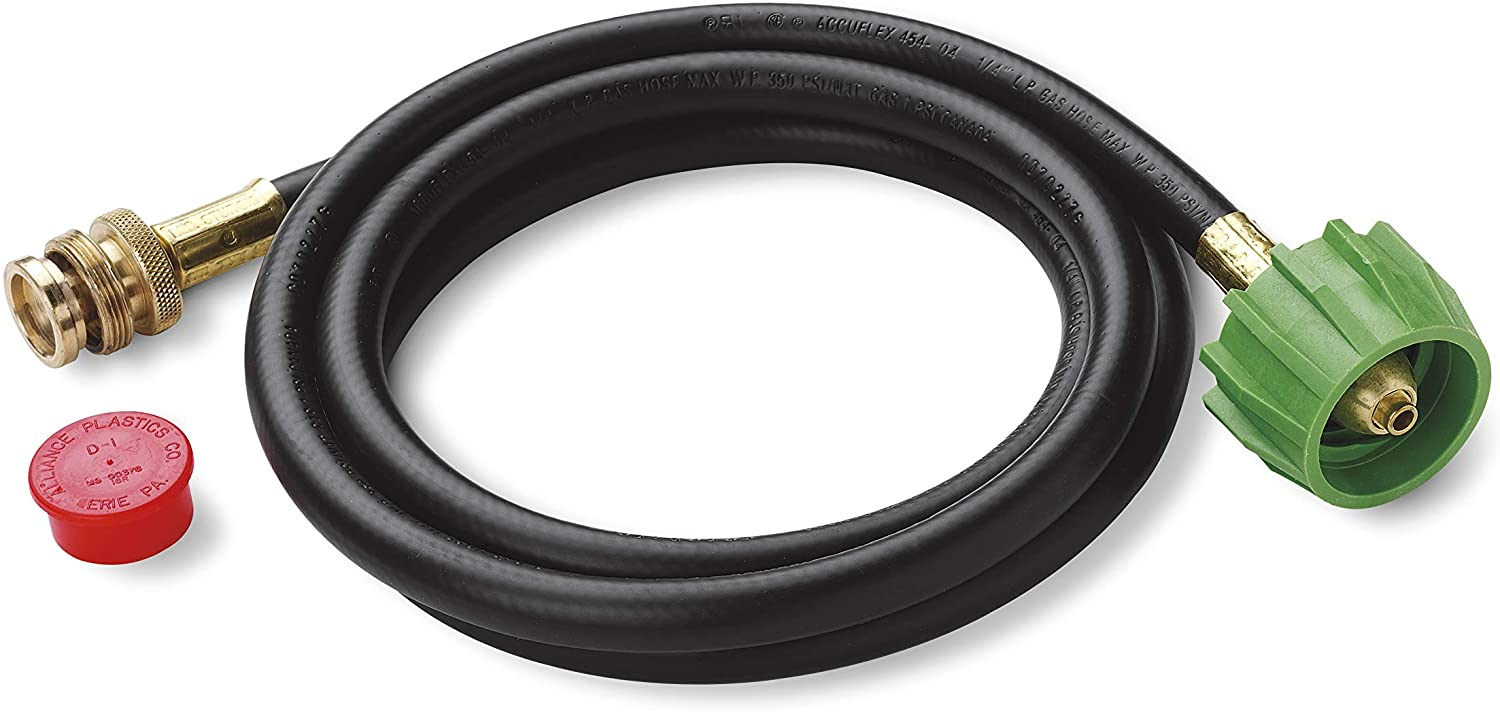 Weber 6 ft Adapter Hose for Go-Anywhere /& Q Gas Grill