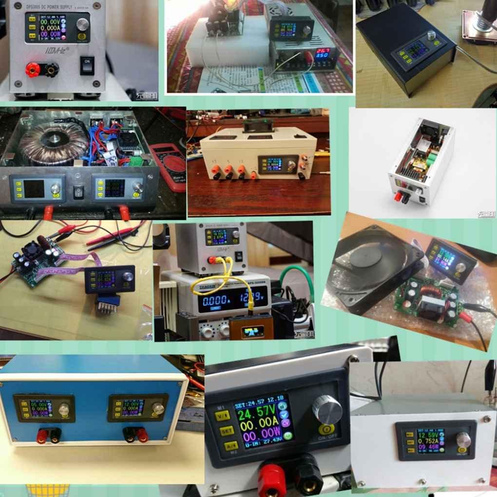 Ben-gi DPS5005 50V 5A Voltaje Corriente Constante de Paso bajo m/ódulo de Fuente de alimentaci/ón Buck convertidor de Voltaje del volt/ímetro