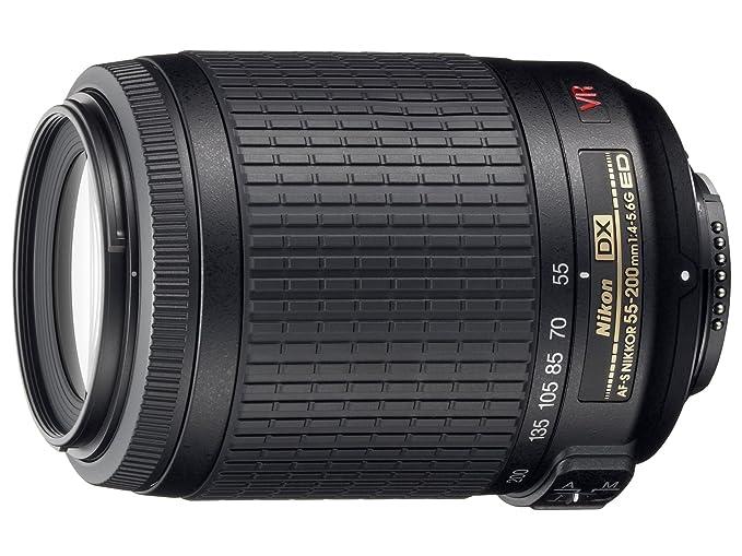 Nikon AF-S DX VR 55-200mm F4-5.6 G  Amazon.es  Electrónica 015189310eb9