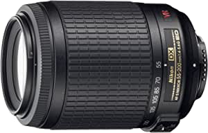 Nikon AF-S DX VR 55-200mm F4-5.6 G: Amazon.es: Electrónica