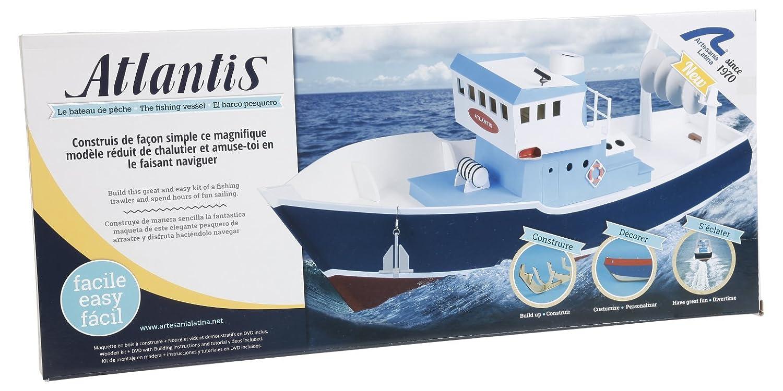 Artesania Latina 30531 - Atlantik Fisch-Trawler Build und Navi, Wasserfahrzeuge