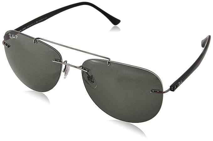RAYBAN Men s 0RB8059 004 9A 57 Sunglasses, Gunmetal Polargreen ... 8236d4985a15