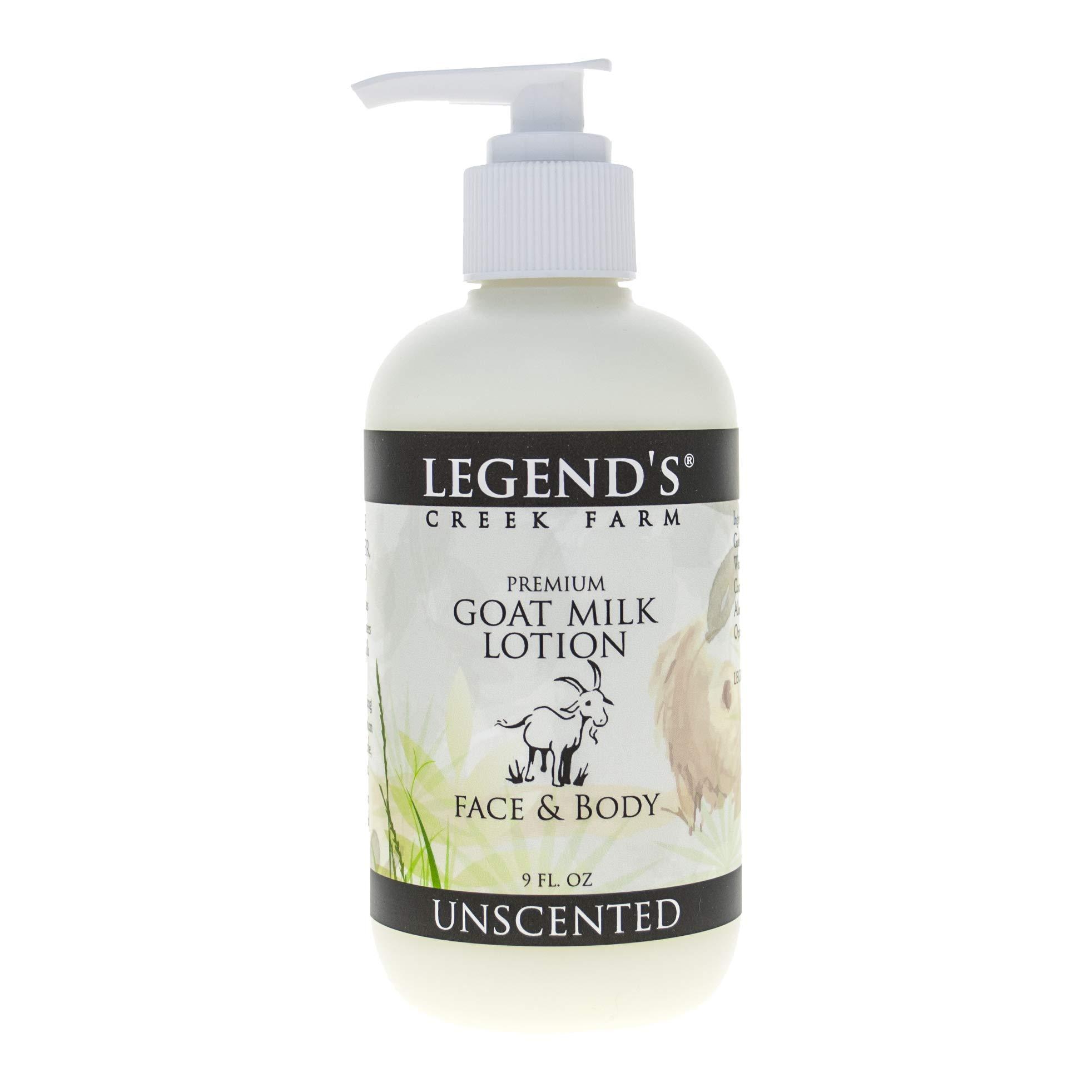 e2cdc283 Amazon.com : Unscented Goat Milk Lotion - 9 Oz Bottle - Paraben Free,  Gentle & Natural For Sensitive Skin : Beauty