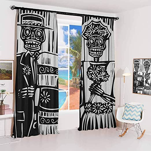 Amazon Com Guuvor Day Of The Dead Studio Partition Living Room