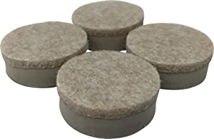 Shepherd Hardware 9916 1-1/2-Inch Heavy Duty Felt Gard Self-Adhesive Leveling Furniture Pads, 4-Pack