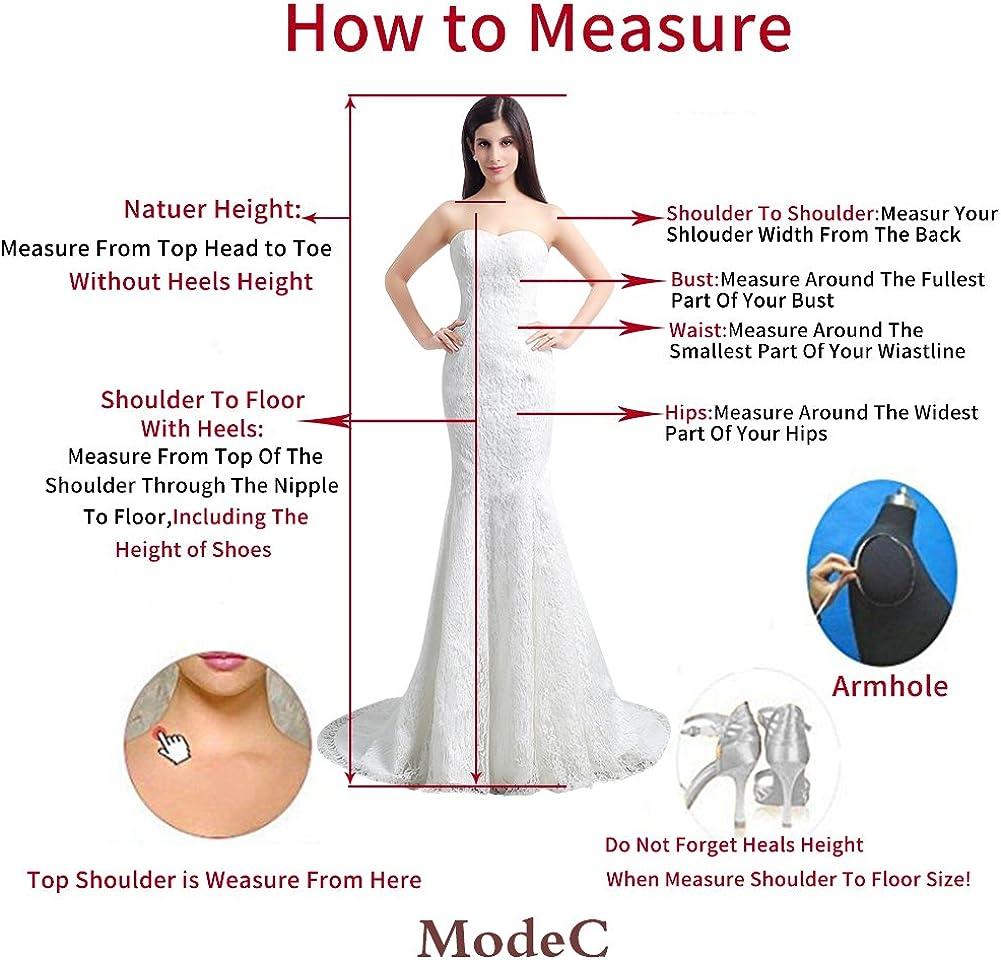 ModeC Long Bridesmaid Dress Half Sleeve Mother of Bride Evening Dresses