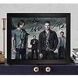 Amazon Price History for:Supernatural Signed Autographed Photo 8X10 Reprint Rp Pp - Jim Beaver, Mark Sheppard, Misha Collins, Jared Padalecki & Jensen Ackles