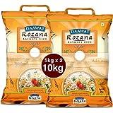 Daawat Rozana Super Basmati Rice, 5kg + 5kg