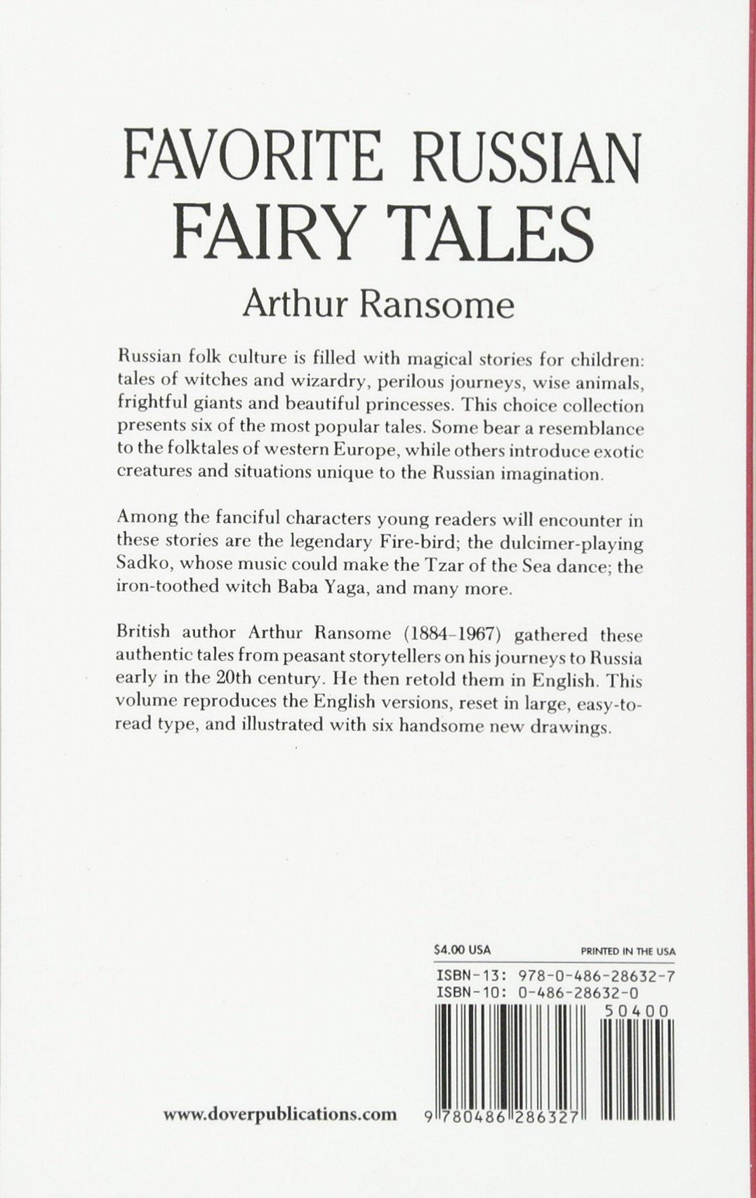 Amazon favorite russian fairy tales 9780486286327 arthur amazon favorite russian fairy tales 9780486286327 arthur ransome simon galkin books aljukfo Choice Image