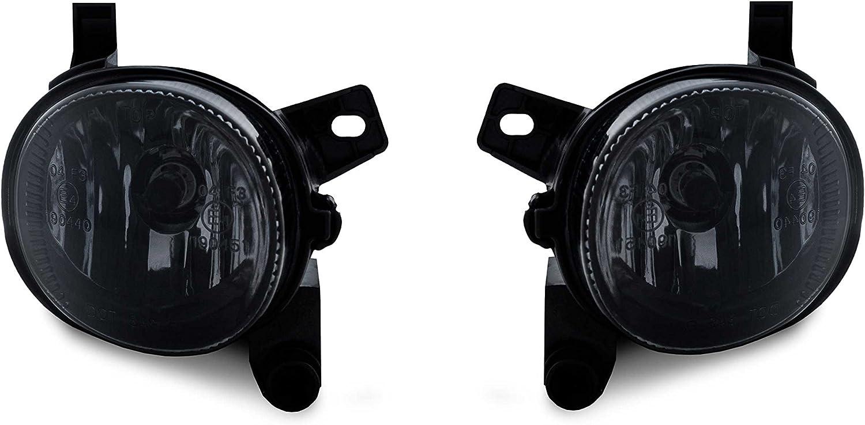 2 X Nebelscheinwerfer Nsw Schwarz Smoke H11 Birnen Set Links Rechts Eintragungsfrei Auto