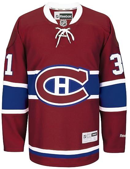 Amazon.com   Carey Price Montreal Canadiens Reebok NHL Premier Red ... 363b7f57c