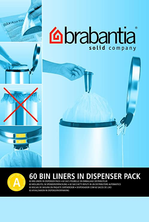 120 x Brabantia PerfectFit bolsas tamaño a 3 l bolsas de ...