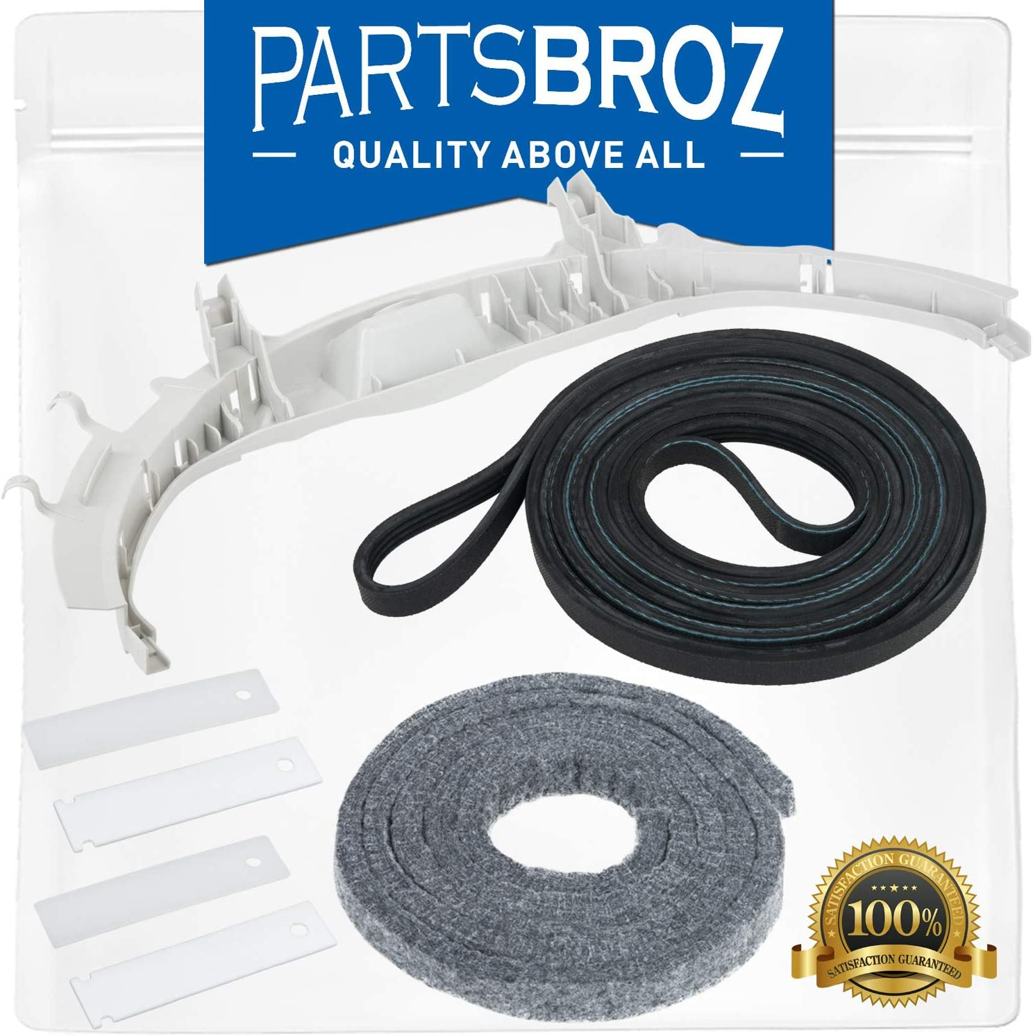 WE49X20697 Dryer Bearing Kit for GE Dryers by Parts Broz - Replaces Part Numbers AP5806906 & PS9493092
