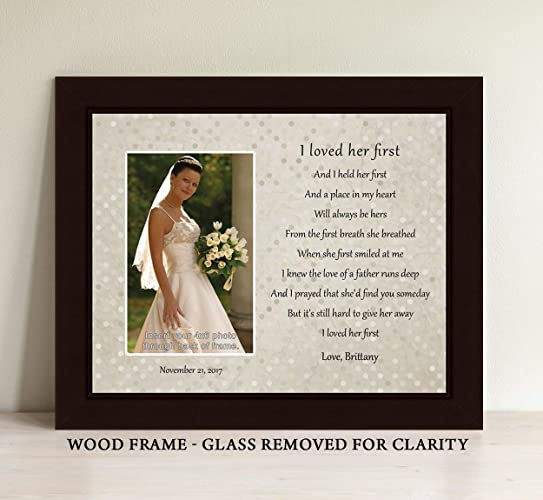 Amazoncom Father Of The Bride Gift Personalize I Loved Her First