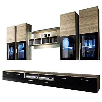 wbbs tv wall units tv stand entertainment unit entertainment wall rh amazon co uk tv wall units for sale tv wall units ideas