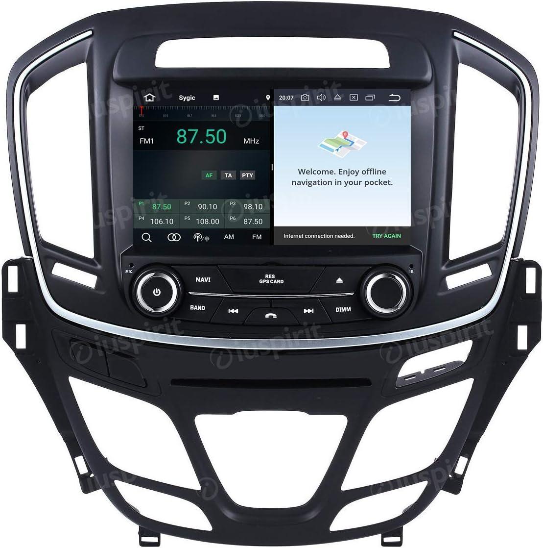 Android 8 0 Gps Dvd Usb Sd Wi Fi Bluetooth Mirrorlink Autoradio Kompatibel Mit Opel Insignia 2013
