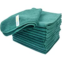 Sinland Absorbent Microfiber Dish Cloth Kitchen Streak Free Cleaning Cloth Dish Rags Lens Cloths 12 Inch X 12 Inch 12…