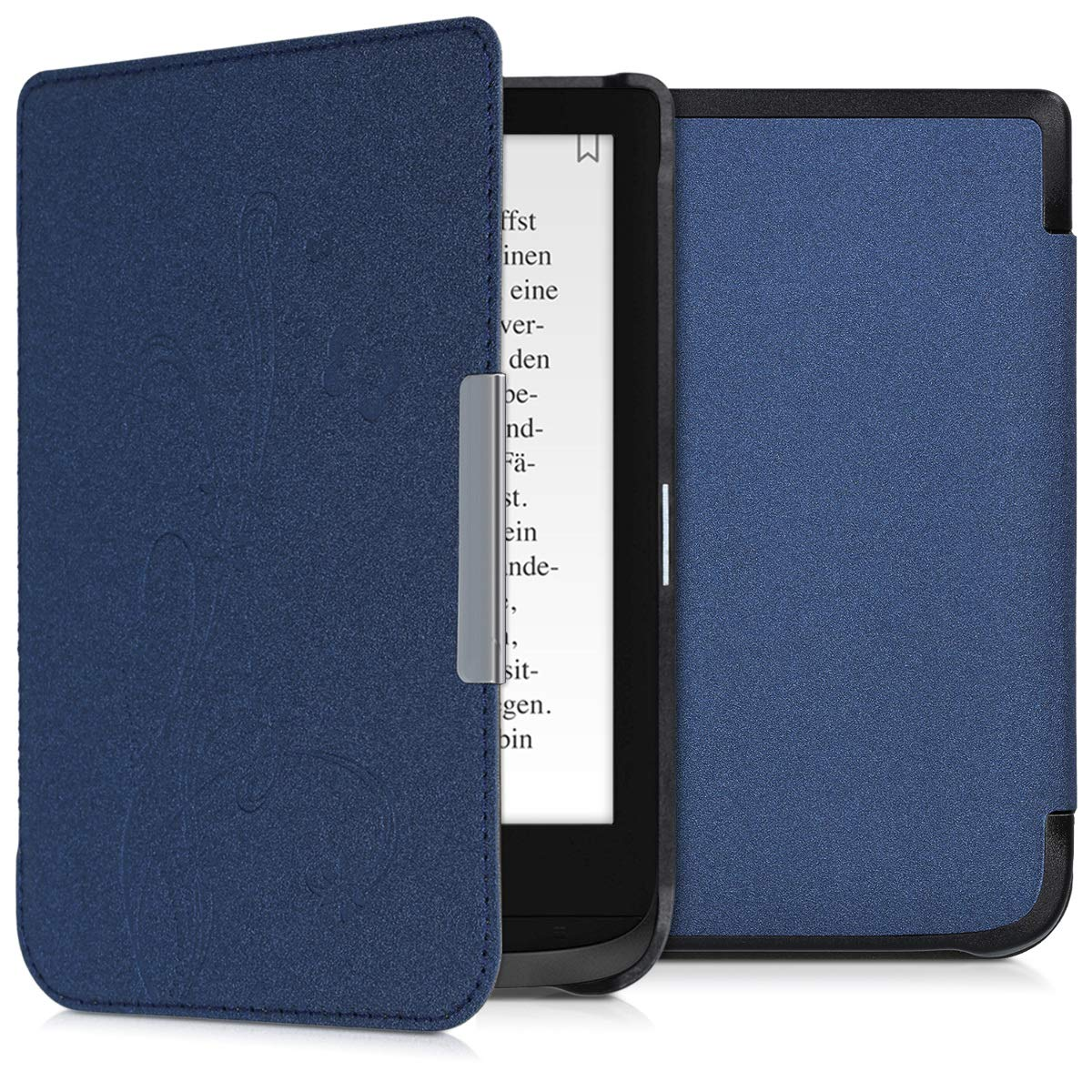 kwmobile Funda para Pocketbook Touch Lux 4/Basic Lux 2/Touch HD 3 ...