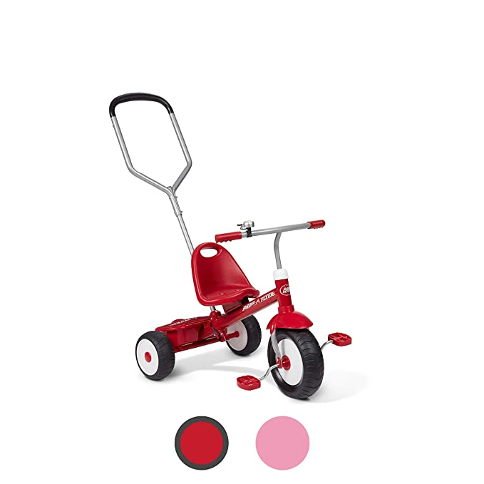 Best Tricycle for Toddlers: Radio Flyer Deluxe Steer & Stroll Trike