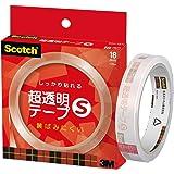 3M スコッチ 超透明テープS 18mm×35m 芯76mm BH-18N