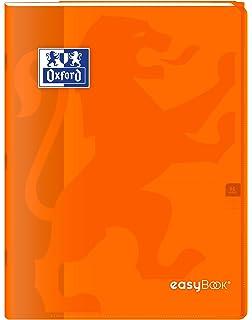 96/p/áginas 24/x 32/cm cuadriculadas 90/g grandes /Cuaderno grapado Oxford 400100060/easybook/ amarillo