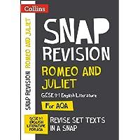 Romeo and Juliet: New Grade 9-1 GCSE English Literature AQA Text Guide (Collins GCSE 9-1 Snap Revision)