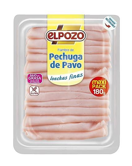 ElPozo Pechuga de Pavo Lonchas Finas - 180 gr