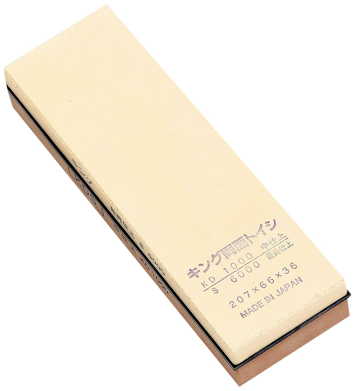 King 1000/6000 Grit Combination Waterstone, Large,
