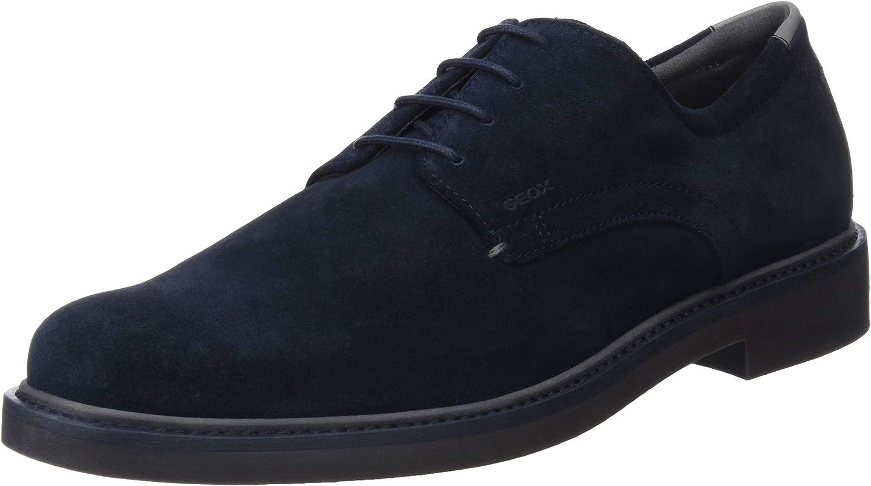 Geox U Silmor B, Zapatos de Cordones Derby para Hombre