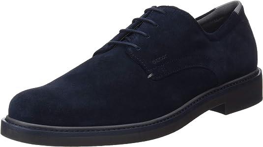 TALLA 41 EU. Geox U Silmor B, Zapatos de Cordones Derby Hombre