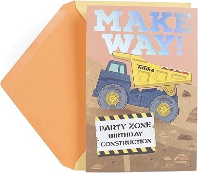 ~ Construction Birthday Party Supplies Stationery Cards TONKA INVITATIONS 8