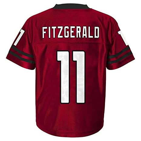 938a9279f Outerstuff Larry Fitzgerald Arizona Cardinals  11 Red Youth Home Player  Jersey (Small 8)