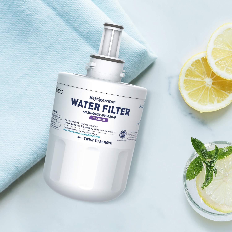 Filtraci/ón Avanzada Filtro de agua de repuesto para frigor/ífico Samsung DA29-00003G Basics