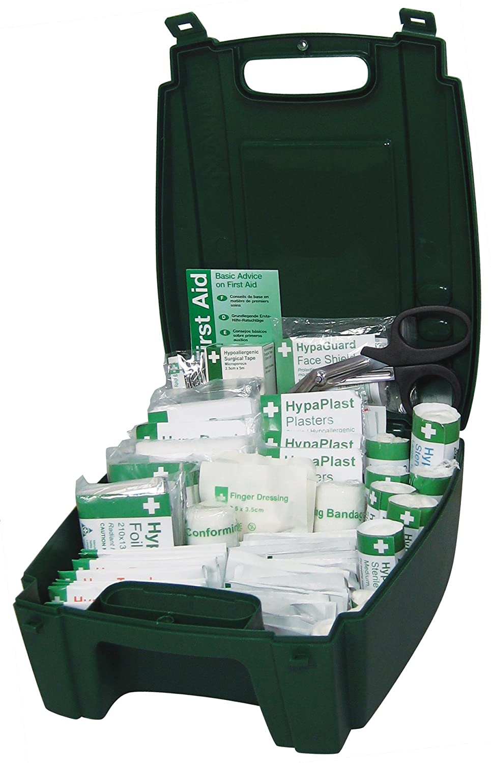 Safety First Aid Group K3031SM Low-High Hazard Small Extensive Range Hardcase First Aid Group Kit