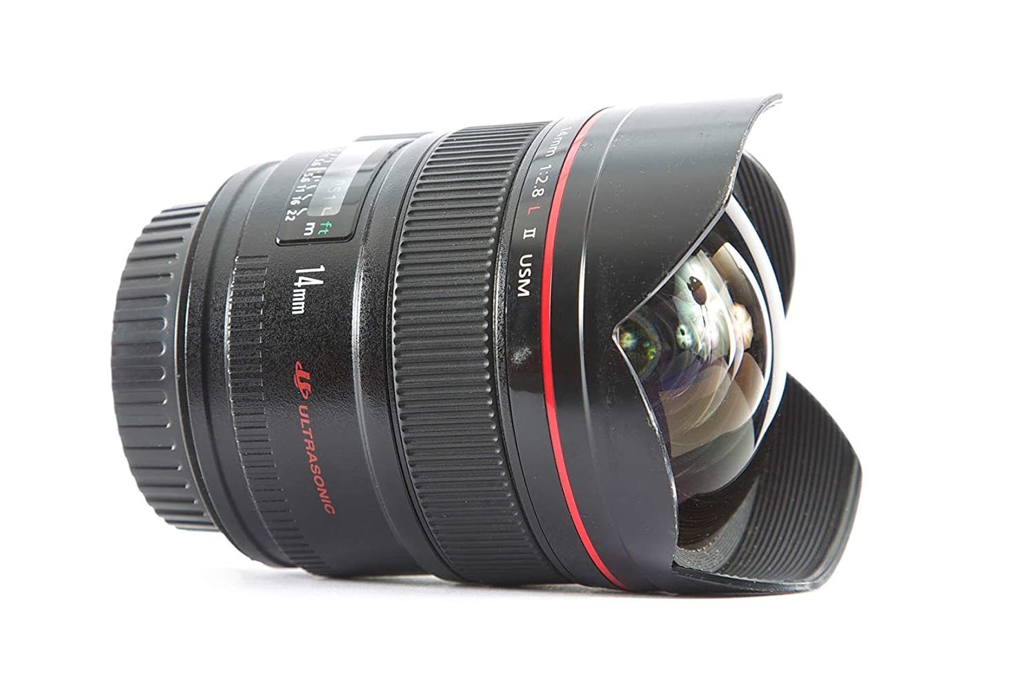 Canon EF 14mm f/2.8L II USM Ultra-Wide Angle Lens for Canon Digital SLR Cameras 2045B002