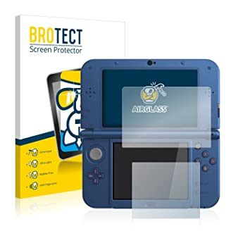 BROTECT Protector Pantalla Cristal para Nintendo New 3DS XL - Cristal Vidrio 9H, AirGlass