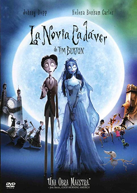 La novia cadáver (Edición metálica) [DVD]: Amazon.es: Tim Burton ...