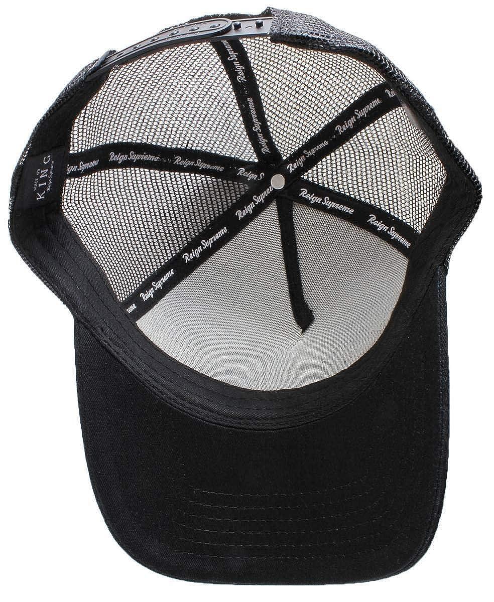 Black King Apparel Mens Aldgate Trucker Cap