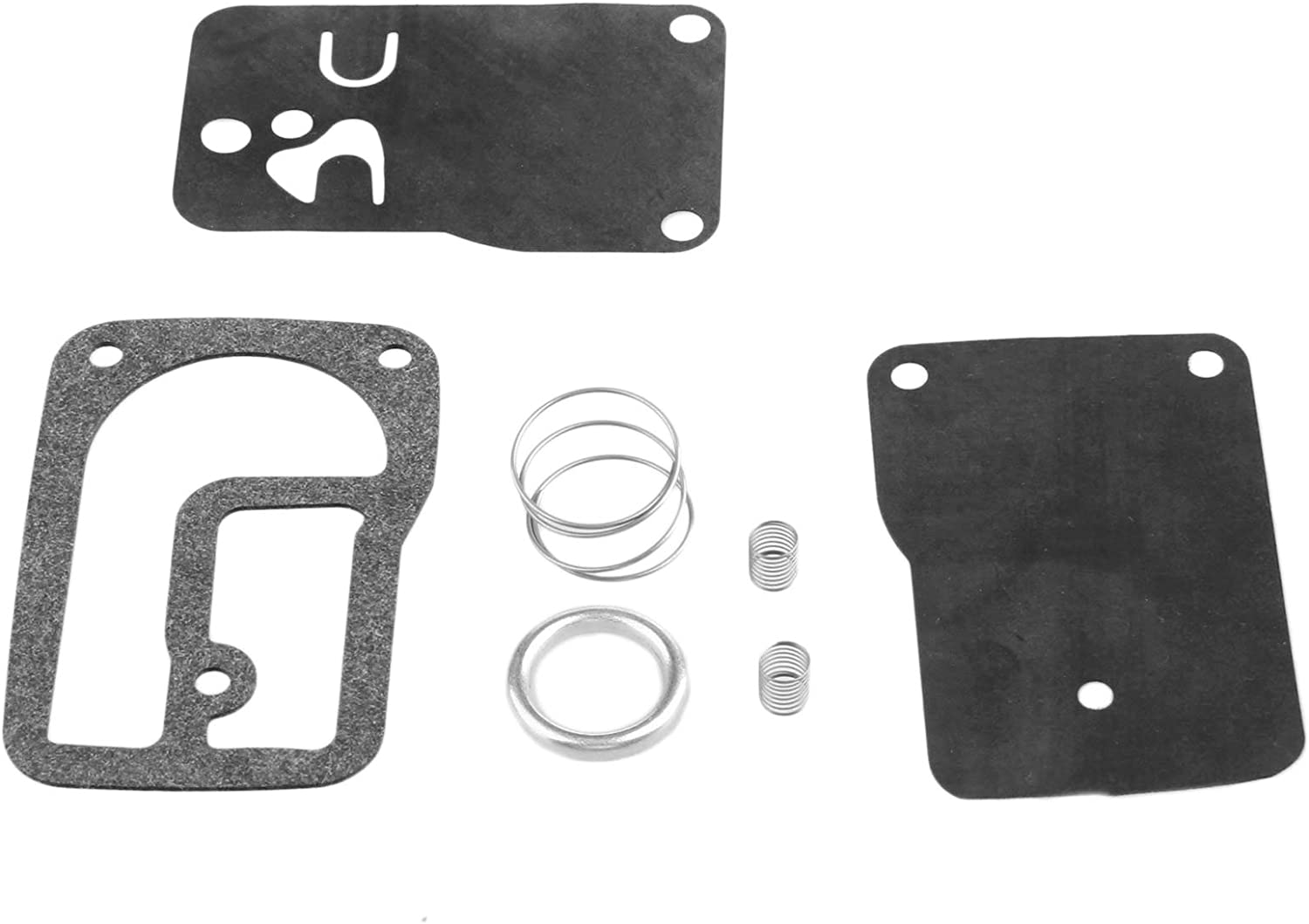 Mtsooning 520-106 Fuel Pump Kit Replaces Briggs and Stratton 393397 Fits 253400-255400, 400400-422700 and 460700
