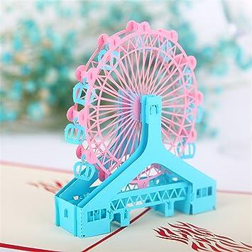 Amazon Funpa Popup Greeting Card Gift Greeting Card Stylish