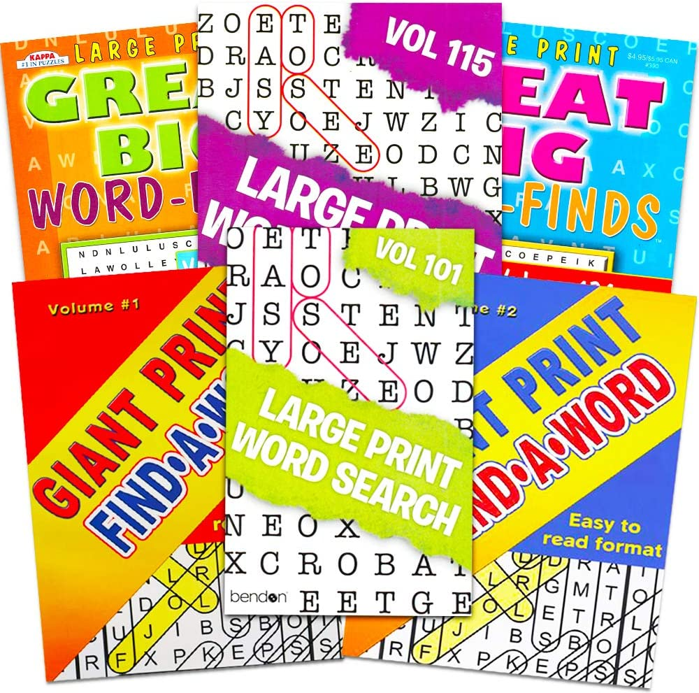 - Amazon.com: Title Large Print Word Search Books For Adults Super