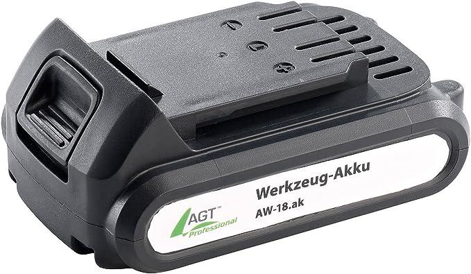 Agt Professional Zubehör Zu Akku Werkzeug Zubehör Li Ion Werkzeug Akku Aw 18 Ak 18 V 1300 Mah Schnellwechselakkus Baumarkt