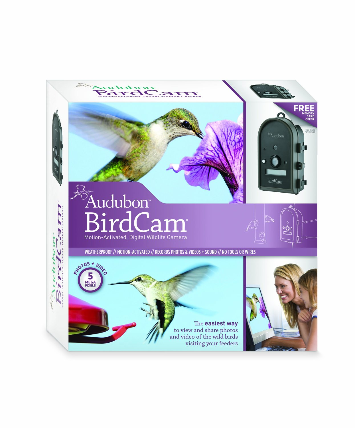 Amazon Com Wingscapes Audubon Birdcam Wild Bird Feeder